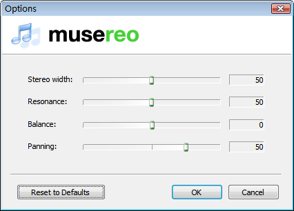 Musereo Mono to Stereo Converter 2.9.0.1486